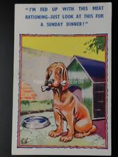 Comic PC Military War, Dog House IM FED UP WITH THIS MEAT RATIONING..  by HB Ltd