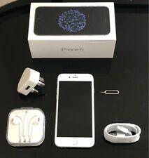 EXCELLENT CONDITION  iPHONE 6 16GB SILVER UNLOCKED SMARTPHONE +WARRANTY