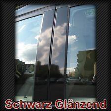 B-Säulen Folien Schwarz f. Audi Limo A3 8P 8L, A4 B5 B6 B7, A6 C5 C6, A8 Pillar