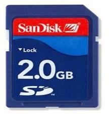 Original Sandisk 2GB SD Memory Card 2G