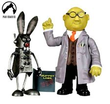 MUPPETS SHOW HONEYDEW DR. BUNSEN ACTION FIGURE THE MUPPET NUOVA NEW!