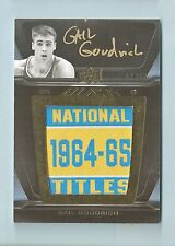 GAIL GOODRICH 2011/12 UD BLACK NATIONAL TITLES PATCH AUTOGRAPH AUTO /60