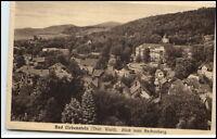 Bad Liebenstein Thüringen Ansichtskarte ~1920/30 Blick vom Aschenberg ungelaufen