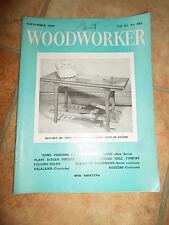 Woodworker September 1960 ~ Retro Vintage Illustrated Magazine + Advertising
