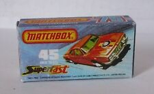 Repro Box Matchbox Superfast Nr.45 BMW 3,0CSL