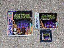 Las Vegas Cool Hand Nintendo Game Boy Color with Box and Manual