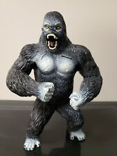 King Kong PVC Action Figure Toy Black Gorilla in Skull Island Toy Model 7.5""