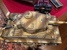 Taigen Tanks Rc Tiger 1 Metal. Extras.