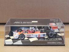 1/43 Minichamps McLaren Ford M23  # 2  Jochen Mass 1977 US GP West  Long Beach