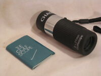 CHAMP  8 x 21 Golfscope Golf scope monocular rangefinder optic optical help