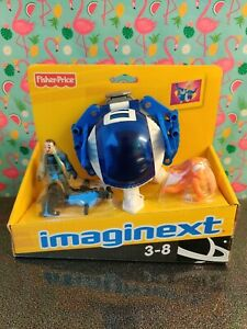 Imaginext Space Explorer Pod Vehicle with Imaginext Space Adventure DVD