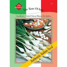 Thompson & Morgan The Taste of Italy Salad Onion Blanca De Lisboa - 1000 Seed