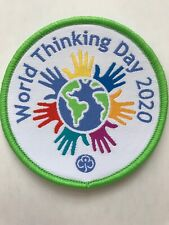 Brownie/guide World Thinking Day Woven Badge  2020