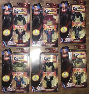 Super Man Quick Shots (6 Sets) Krypton Clash,Flight Strike,Ultrahero,Flyin Fury+