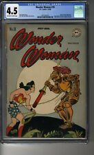 Wonder Woman (1942) # 18 - CGC 4.5 OW/White Pags - Dr Psycho App - Harry G Peter