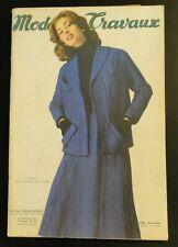 Magazine Modes & Travaux Février 1955 complet