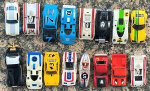 Slot Car Bodies Lot