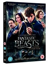 Fantastic Beasts And Where To Find Them [DVD] New & Sealed Region 2 UK Fast P&P