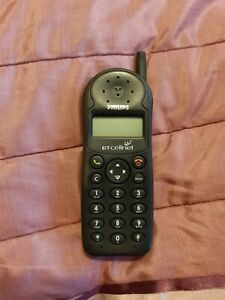 Vintage Phillips TCD 128 Mobile Phone - BT Cellnet