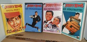 Jerry Lewis Collection 4 VHS