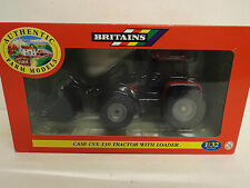 BRITAINS  FARM 40079 CASE CVX TRACTOR WITH LOADER  MIB   (BS957)
