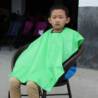 Waterproof Child SalonHair Cut Hairdressing Barbers Cape Gown Wai Cloth Ornate