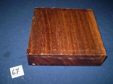 Yaya afrikanisches Hartholz  Drechselholz   170 x 170 x 46 mm   Nr. 67