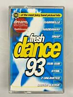 Fresh Dance 93 Cassette Tape