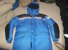 Obermeyer Polar Arctic Canada Goose Down Jacket Coat 8000m Himalayan Parka Blue