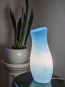 Vintage Ikea Mylonit Blue Lamp