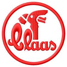 Claas logo Aufnäher iron-on patch