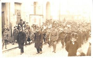 1919 RP POSTCARD: PEACE DAY PARADE 9TH MAY 1919