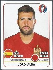 PANINI EURO 2016- #358-SPAIN-JORDI ALBA