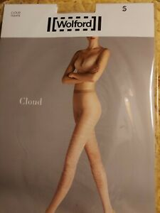 Wolford Cloud Tights, Small, Gobi/white