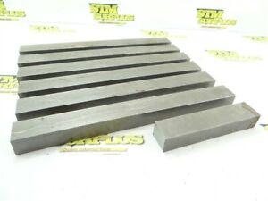 """14.5LB STEEL BAR STOCK 3/4"""" THICKNESS 4-3/4"""" TO 10-1/8"""" LENGTHS"""
