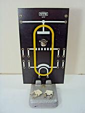 Phywe Röhrenbrett 6731 mit Elektronenröhre EC 92 und Plattenfuß 6011