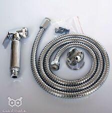Brass Metal Bidet Shattaf Douche Spray Hygienic Toilet Shower Head Hose Muslim