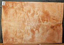 Flame Curly Maple Wood 10750 Luthier Solid Body Guitar Top Set 24 x 16 x .500
