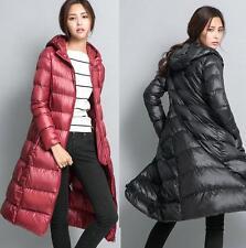 women jacket 90% white duck down long jacket coat duck down long parka outwear