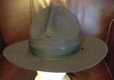 MENS Pre-Worn Police Officer Uniform THE LAWMAN Hat Genuine Milan Sz- 7 EC!