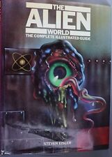 THE ALIEN WORLD COMPLETE ILLUSTRATED GUIDE STEVEN EISLER VINTAGE SCI FI ALIENS