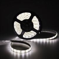 5M SMD 5630 Nature White 300 LED Waterproof IP65 Flexible LED Strip Light DC 12V