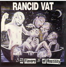 RARE! 31 Flavors of Hostility by Rancid Vat CD New! Sealed!