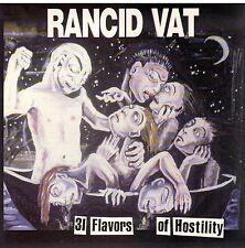 RARE! 31 Flavors of Hostility by Rancid Vat CD New! Sealed!
