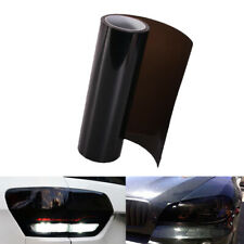30 x 100cm Dark Smoke Black Tint Film Headlights,Tail lights Car Vinyl Wrap New