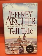 BRAND NEW SIGNED FIRST EDITION JEFFREY ARCHER TELL TALE  FREE RECORDED POST