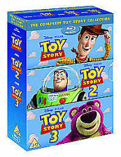 Toy Story 1-3 - Collection (Blu-ray, 2010, 4-Disc Set, Box Set)