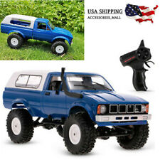 WPL C24 1/16 RC CAR CRAWLER OFF-ROAD 4WD TRUCK RTR W/HEADLIGHT KIDS GIFT P1G6