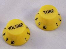 Ricambi giallo per chitarre e bassi
