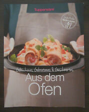 "Tupperware Rezeptheft Rezepte "" Aus dem Ofen "" 35 Seiten Neu"